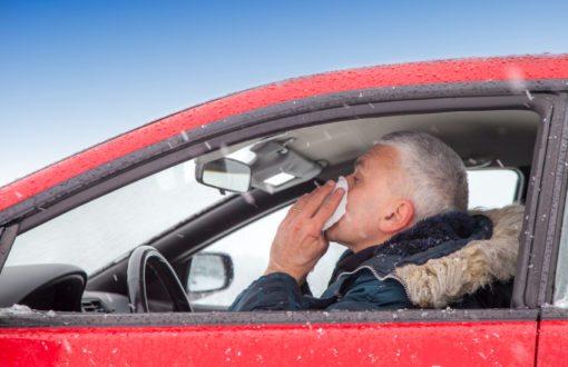 La rhinite allergique augmente le risque d'accidents de la route!
