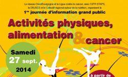 BigThumbnail - «Activités physiques, alimentation et cancer» à la Piscine Olympique